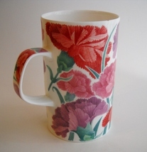 Cup Dunoon Faversham Fine Bone China Coffee Mug Floral Flowers Caroline ... - $22.00