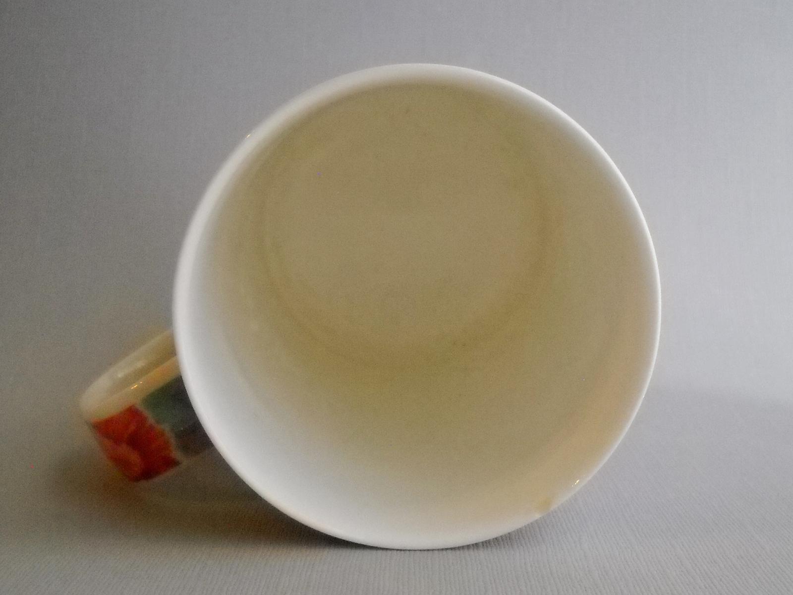 Cup Dunoon Faversham Fine Bone China Coffee Mug Floral Flowers Caroline Bessey