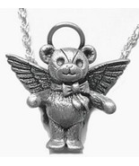 COOL Bear Pendant Charm Jewelry Guardian Angel Jewelry Sterling Silver 925 - $25.99