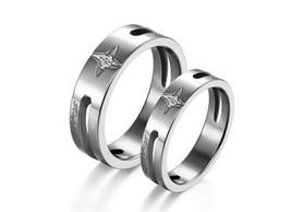 Couples Matching Titanium Steel Band Rings Free Shipping - $60.00