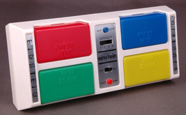 Einstein-Castle Toy Co.-Electronic Game-Vintage-Buttons-Red Green Blue Y... - $18.68