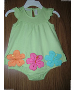 First Impressions Baby Girl Floral Sundress, Green Color, Sz. 3-6 Months... - $9.89