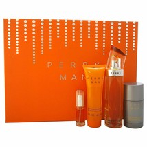 Perry By Perry Ellis 4 pcs Gift Set  for men - $49.99