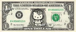 HELLO KITTY on a REAL Dollar Bill Cash Money Collectible Memorabilia Celebrity - $5.55