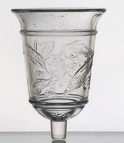 home interiors peg votive cup glass crystal magnolia bell homco home interior votive cups shop collectibles online daily
