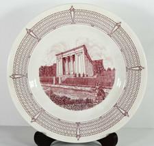 """10"""" Vintage Wedgwood Egyptian Building Medical College Virginia Porcelai... - $28.49"""