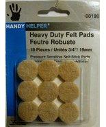 "Heavy Duty Felt Pads-3/4""-18pcs - $9.79"