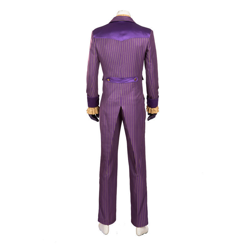 Halloween Batman The Dark Knight Rise Joker Outfits Movie Cosplay Costume Suit