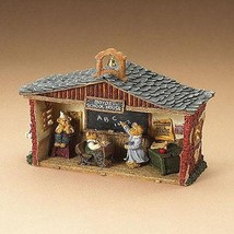 "Boyds Bearstone ""Mrs. Crabapples's One Room Schoolhouse"" #24810- NIB-2006 - $39.99"