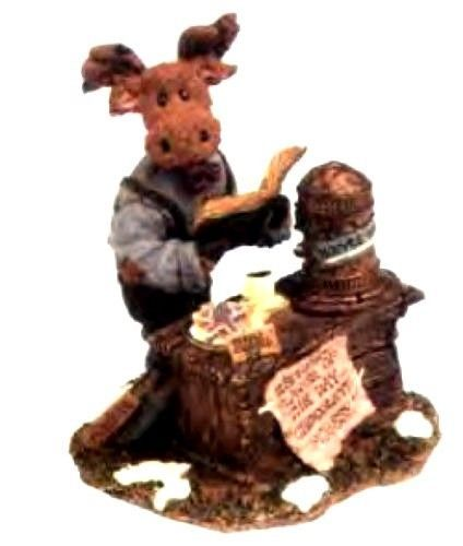 "Primary image for Boyds Bears Moose Troop ""Mr. Mocha Java Mooselbean..Doubleshot"" #36900- NIB"