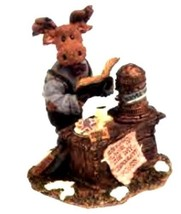 "Boyds Bears Moose Troop ""Mr. Mocha Java Mooselbean..Doubleshot"" #36900- NIB - $29.99"