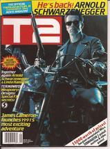 T2 Official Terminator 2 Judgement Day Movie Magazine Weaponry Designs S... - $9.95