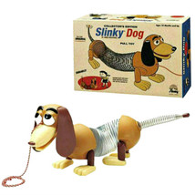 Collector's Edition Original Slinky Dog in Retro Packaging Poof Slinky T... - $26.83