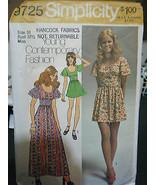 Vintage Simplicity 9725 Misses Dress/Mini-Dress Pattern - Size 10 Bust 3... - $8.02