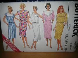 Vintage Butterick #3680 Misses Dress Pattern - Size 20 & 22 - $7.13