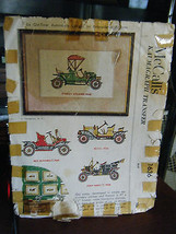 Vintage McCall's 1636 Vintage Cars Embroidery Patterns & Instructions - $8.91