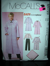 McCall's #M4723 Women's Jacket/Robes/Pants/Blanket Pattern-Sizes 18W/20W... - $11.58