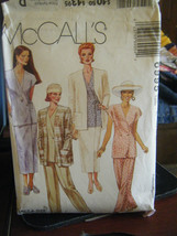 McCall's 6995 Misses Unlined Cardigan, Tunic, Skirt & Pants Pattern - Si... - $5.35