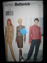 Butterick #6792 Misses Jacket, Skirt & Pants Pattern - Sizes 6/8/10 - $6.24