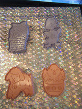 Lot of 4 Plastic Easter Cookie Cutters - $10.68