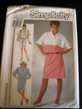 Vintage Simplicity #7318 Misses Blouson Dress Pattern - Size 6/8/10 - $5.35