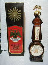 Vintage Avon Weather-Or-Not Decanter With Box - $13.45