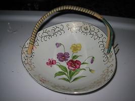 Vintage Ucagco Japan Floral & Gold Decorated Se... - $26.72