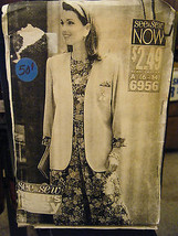 Vintage Butterick See & Sew 6956 Unlined Jacket, Top & Skirt Pattern - S... - $6.60