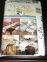 McCall's by Donna Babylon 714 Tablerunners & Placemats Pattern - $8.02