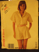 McCall's Stitch'n Save 2443 Misses Shirt & Shorts Pattern - Size 6/8/10 - $6.24