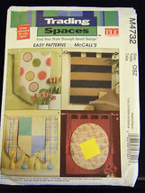 McCall's #M4732 Trading Spaces Wall Hangings Pattern - £4.09 GBP