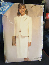 Vintage Butterick See & Sew 5351 Misses Jacket & Dress Pattern - Sizes 8... - $7.13