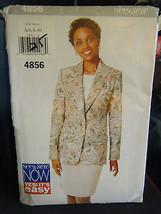 Vintage Butterick See & Sew 4856 Misses Jacket & Skirt Pattern - Sizes 6... - $6.24