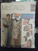 McCall's 964 Scrubs Vest, Cardigan,Top, Pants, Skirt & Hat Pattern - Sz ... - £4.78 GBP