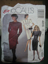 McCall's 4615 Misses Dresses Pattern - Size 12 - $7.13