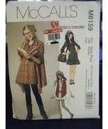 McCall M6159 Girls Plus Vest, Dress, Shirts & Legging Pattern - Sz 10 1/... - $6.24