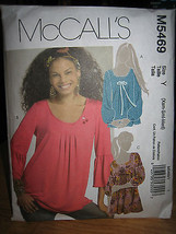 Vintage McCall's #M5469 Misses Tunic Pattern- Size XS & S - $7.13