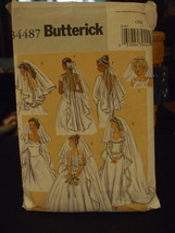 Butterick B4487 Misses Veils Pattern - One Size - $8.91