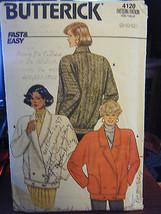 Vintage Butterick 4120 Misses Jacket Pattern - Size 8 - $5.35