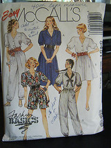 Vintage McCall's 5451Misses Dress & Jumpsuits Pattern - Size 10 & 12 - $5.35