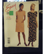McCall's Stitch'n Save 2176 Misses Dress in 2 Lengths Pattern - Size 14/... - $7.13