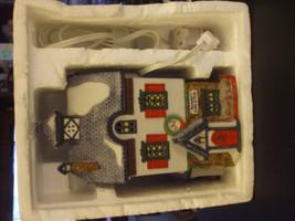 "Vintage Department 56 North Pole Series ""Neenee's Dolls & Toys"" Lighted ... - $26.75"