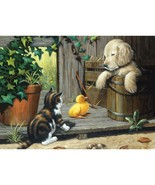 Junior Large Paint By Number Kit 15.25X11.25 3 Buddies - $12.73