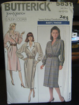 Butterick Jean Nidetch for Claudia Cooper 5831 Misses Dress Pattern - Sz... - $6.24