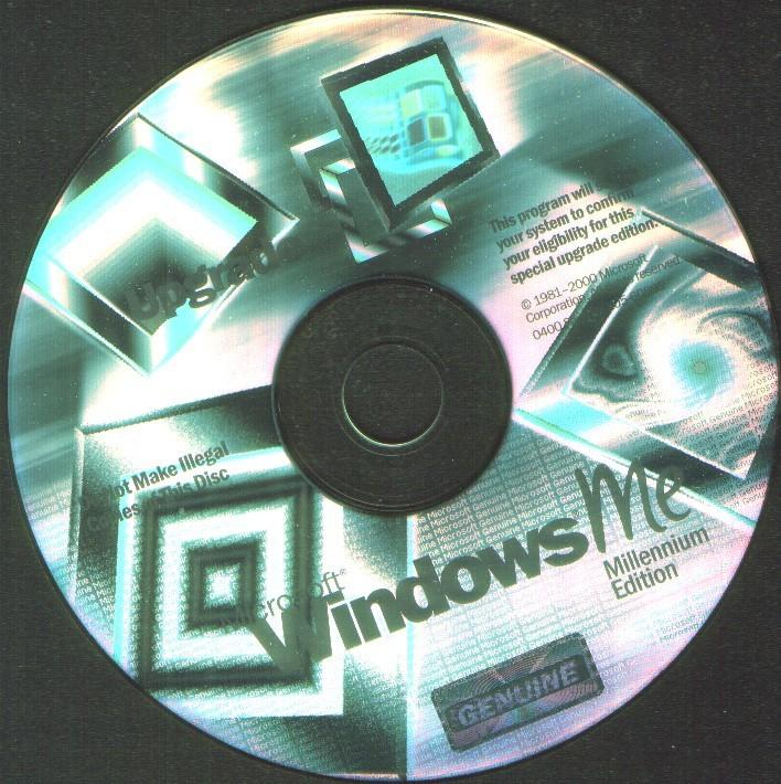 Millennium Upgrade Disc Plus Windows 95 OS CD