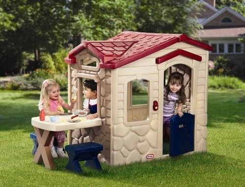 Outdoor Little Todler Tikes Picnic on the Patio Playhouse