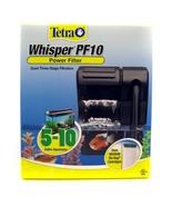 Tetra Whisper PF10 Power Filter for 5-10 Gallon... - $16.36