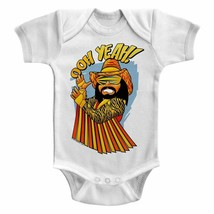 Macho Man Randy Savage Oh Yeah Baby Body Suit Wrestling Infant Romper Bo... - $18.50