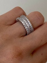 HH Bliss Eternity Ring Band- Sterling Silver Sizes 5 to 7 - $42.00