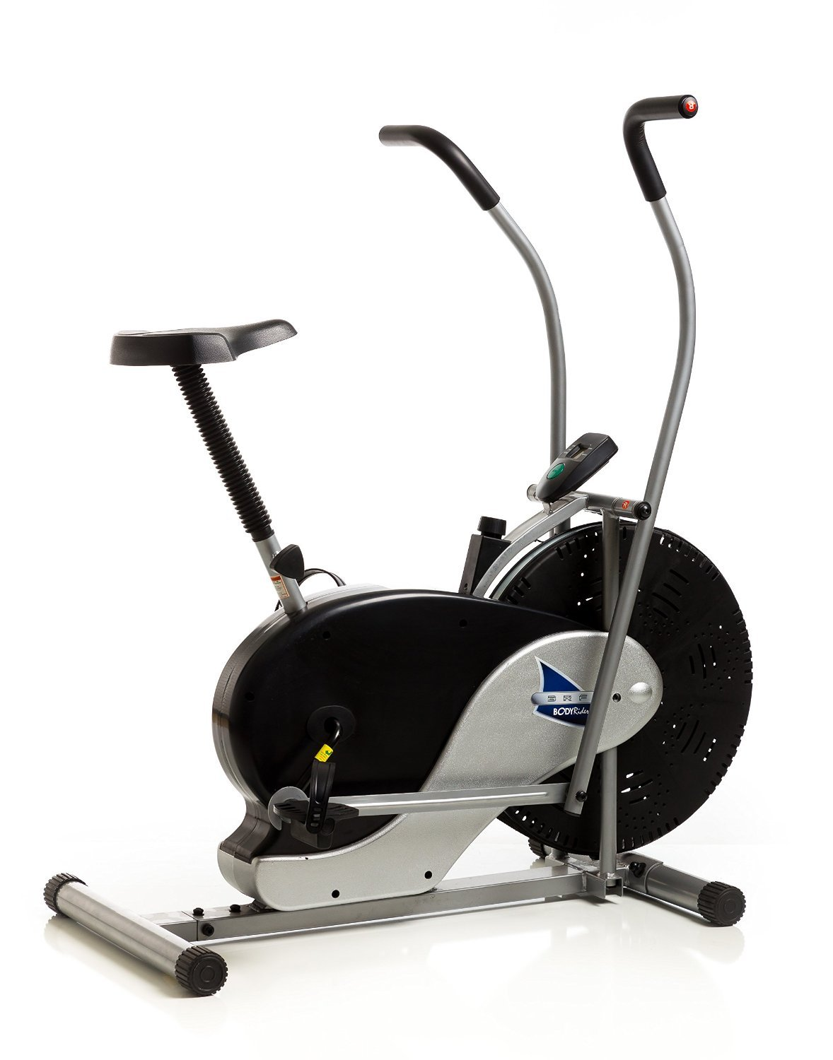 Body Fitness Exercise Bicycle Bike Max Stationary Upright Rider With Cooling Fan